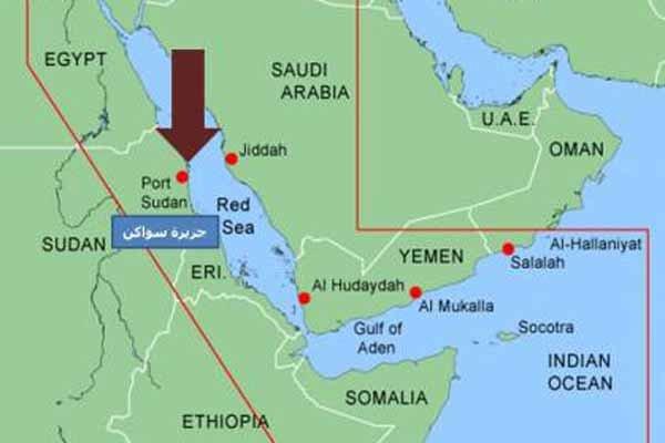 دلایل حضور ترکیه در منطقه راهبردی دریای سرخ