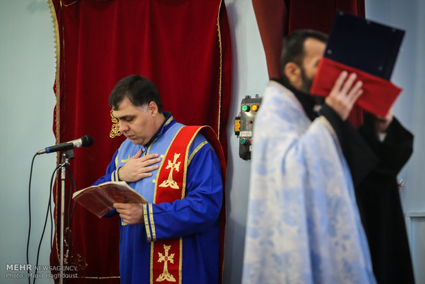 Surp Targmanchats Church of Tehran celebrates New Year
