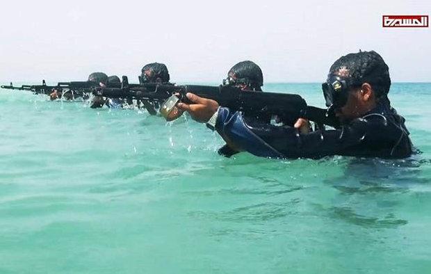 القوات البحرية اليمنية تضبط مركبة تجسسية تابعة للعدوان في المياه الإقليمية