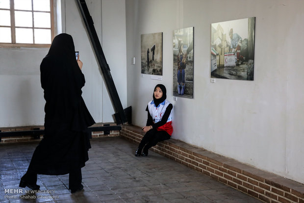 Photo Exhibition of Kermanshah earthquake