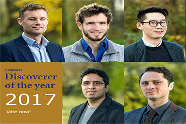 Iranian scientist nominated for discoverer of year 2017