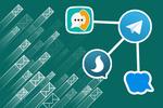 ۲۷ درصد بازدیدها در تلگرام کاهش یافت/ ۷ پیام رسان بومی تایید شدند