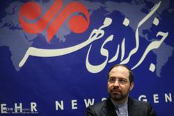 تقرير مصور عن تفقد المتحدث باسم وزارة الداخلية الايرانية لمقر وكالة مهر للأنباء