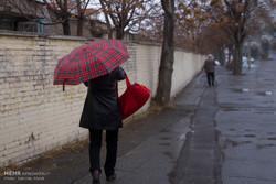 بارش بارام در اراک