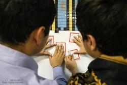 نمایشگاه دانش آموزی انتفاضه فلسطین