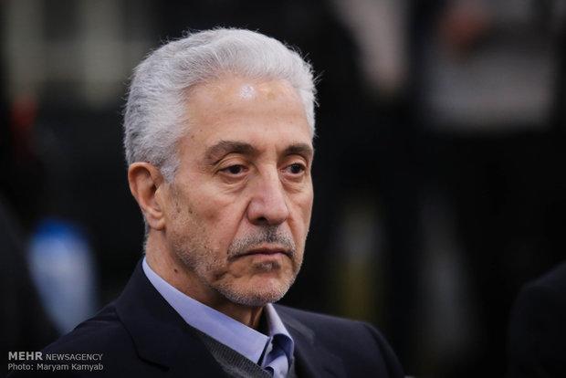 منصور غلامی وزیر علوم تحقیقات و فناوری در مراسم تقدیر از برگزیدگان المپیادهای علمی