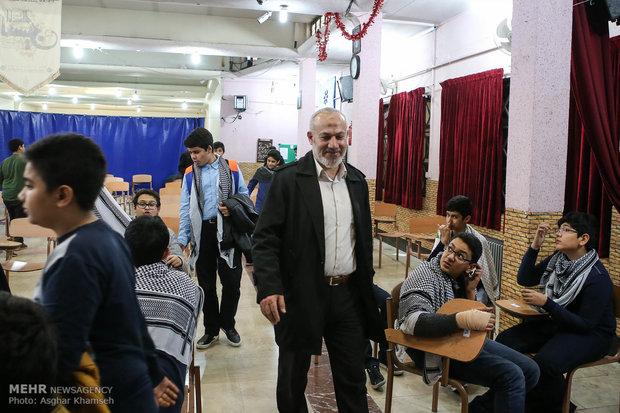 Öğrencilerden Filistin intifadası çalışması
