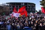 تجمع مردم شهر اراک در محکومیت اقدام اغتشاشگران