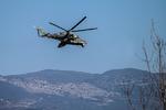 یک بالگرد نظامی در روسیه سقوط کرد/ ۴ نفر کشته شدند