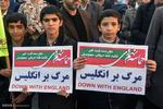 تجمع و راهپیمایی مردمی در اعتراض به آشوب های اخیر در شهرضا اصفهان