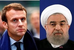 Envoy hands over Rouhani's message to Macron
