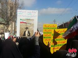 راهپیمایی کرمانشاهیان علیه اغتشاشگران و فتنه گران