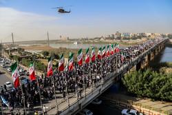 نماینده ولی فقیه و استاندار خوزستان از حضور مردم تقدیر کردند