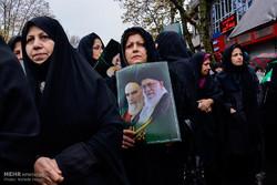 تجمع و راهپیمایی مردمی در اعتراض به آشوب های اخیر در گرگان