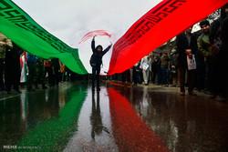 تظاهرات الشعب الايراني لإدانة اعمال الشغب في مختلف المدن الايرنية / صور