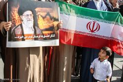تجمع و راهپیمایی مردمی در اعتراض به آشوب های اخیر در بوشهر