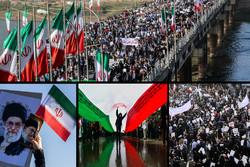 راهپیمایی در استان های مختلف کشور