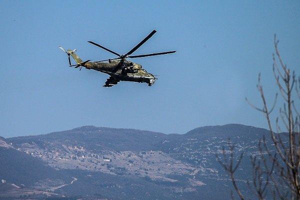کشته شدن ۲ خلبان روسی در پی سقوط بالگرد
