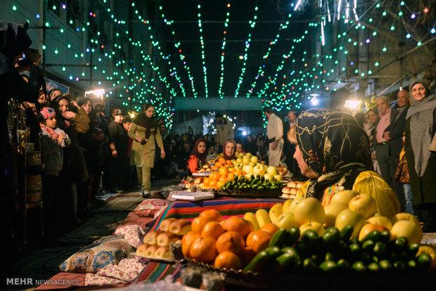 """مهرجان """"ذكريات الكرسي مع الجد والجدة"""" في طهران"""