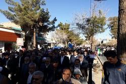 مردم کرمان اغتشاشات روزهای اخیر را محکوم کردند