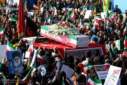 مراسم تشییع شهید سجاد شاهسنایی در اصفهان