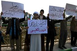 تجمع و راهپیمایی مردمی در اعتراض به آشوب های اخیر در استان ها