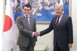 وزیر خارجه ژاپن و پاکستان