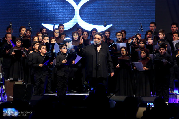İran'daki müzik konserinden kareler