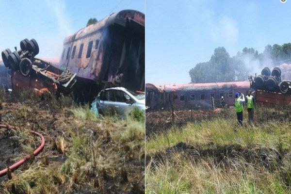 برخورد قطار با کامیون در آفریقایجنوبی با دهها کشته و زخمی