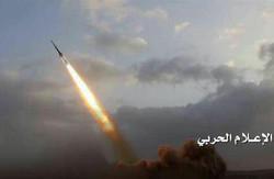 القوة الصاروخية اليمنية تقصف مصفاة أرامكو ومصانع البتروكيماويات في جيزان