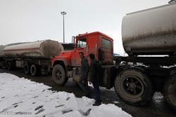 انباشت تانکرهای سوخت در مرز تمرچین پیرانشهر