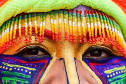 کارناواڵی شهقامی ڕهش و سپی له کۆلۆمبیا