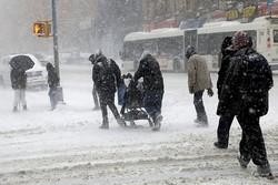 کشته شدن ۶ شهروند آمریکایی بر اثر سرمای شدید و کولاک در این کشور