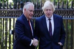 گفتگوی وزرای خارجه انگلیس و آمریکا درباره اغتشاشات ایران