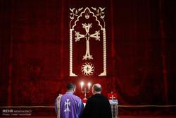 مراسم میلاد حضرت مسیح (ع) در کلیسای سرکیس مقدس
