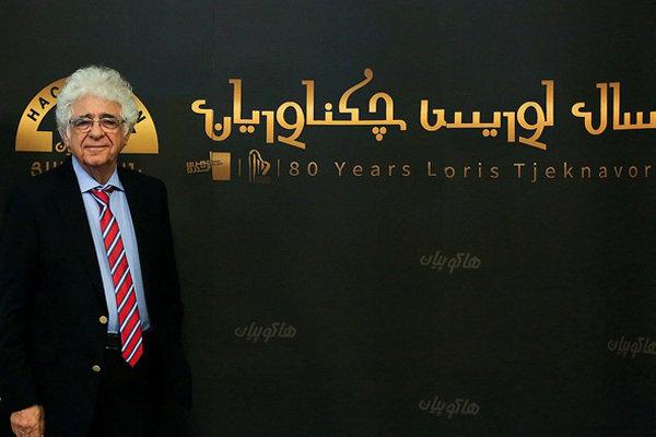 «۸۰ سال لوریس چکناواریان» با «مرثیه ای برای قتل عام» کلید خورد