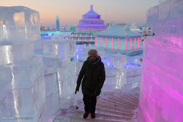 جشنواره بناهای یخی هاربین
