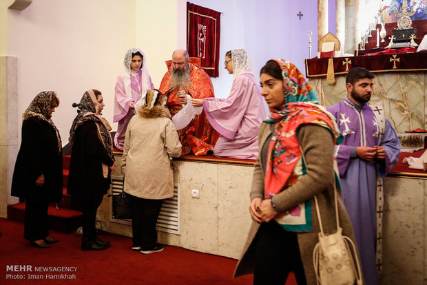 Iranian Armenians celebrate birthday of Jesus Christ