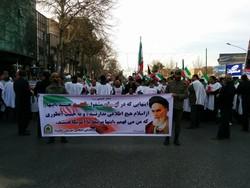 راهپیمایی مردم شاهرود