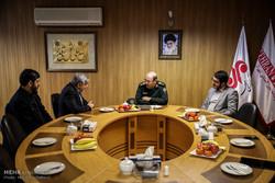 بازدید وزیر سابق دفاع و پشتیبانی نیروهای مسلح از خبرگزاری مهر