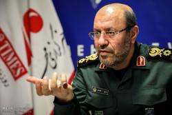 """العميد """"حسين دهقان"""" يزور مقر وكالة مهر للأنباء / صور"""