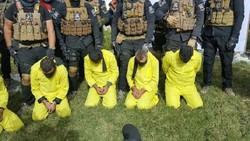 """اعتقال 13 """"ارهابيا"""" شمال الموصل"""