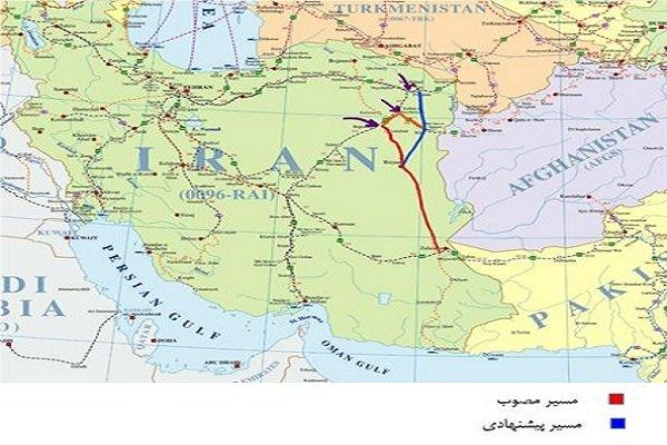 تکمیل خط آهن «سرخس –چابهار» موجب تحول اقتصادی شرق کشور می شود