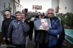 مراسم تشییع پیکر جمشید الوندی