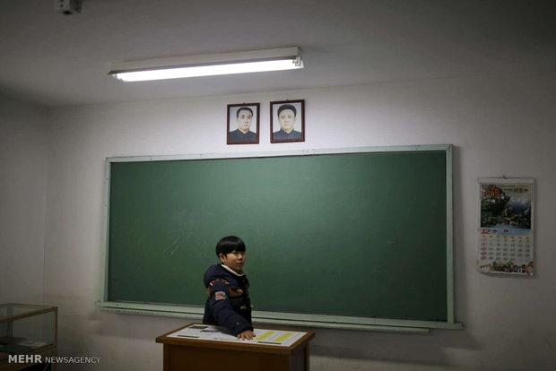 """Kuzey ve Güney Korelerin arasındaki """"tampon"""" bölgesinden kareler"""