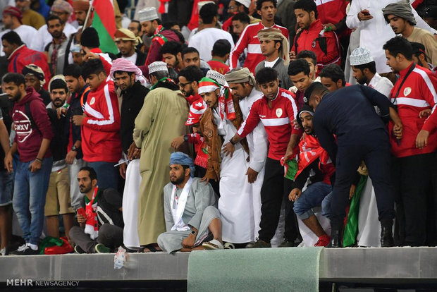 حادثه در فینال جام باشگاه های خلیج فارس