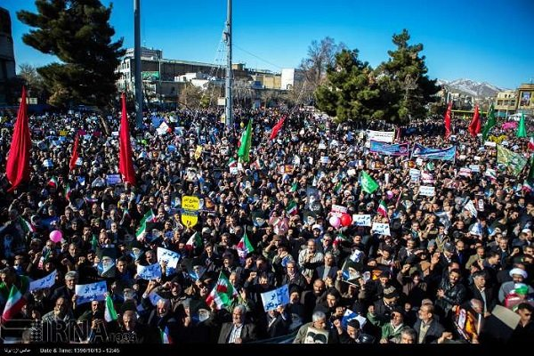 Rallies go on in Iran rebuffing US futile intervention
