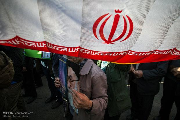 راهپیمایی اعلام برائت از فتنه گران در قزوین