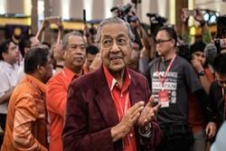 پیروزی ماهاتیر محمد ۹۲ساله در انتخابات پارلمانی مالزی