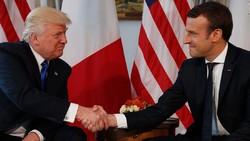 Trump, Macron discuss Iran riots by phone